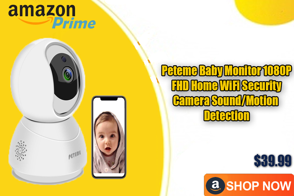 Peteme Baby Monitor 1080P